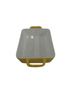 Baking dish rectangle 24cm x 14cm yellow