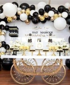 Cart Table and Backdrop Combo