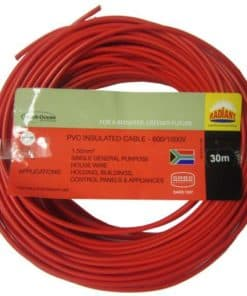 House Wire 2.5mm x 30m Red