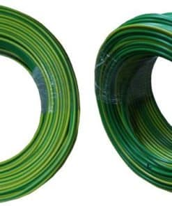 House Wire 2.5mm x 100m Green and Yellow