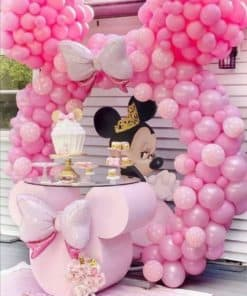 Minnie Mouse Wooden Table Combo