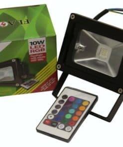 Flood Light 9W Led Colour Change With Remote