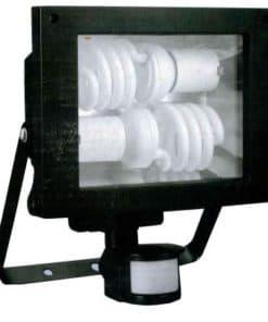 Flood Light 2 x E27 With Sensor
