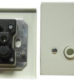 Wall Socket Single 4 x 2 With Cover