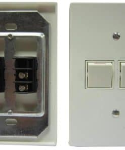 Wall Switch Double With Cover