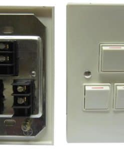Wall Switch Triple With Cover