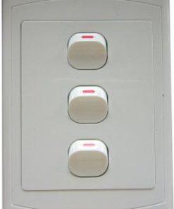 Three Lever Switch 4 x 2 inch