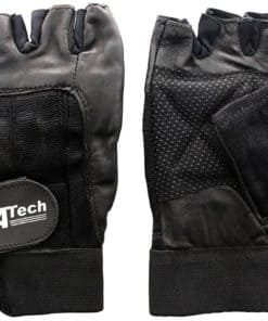 Gyme Gloves Stretch Leather Grip Palm