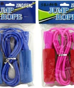 Skipping Rope 2.7m Pvc String Xinqifeng Assorted Colors
