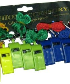 Plastic Whistle Abs 12's