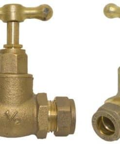 Brass Stop Tap 15mm