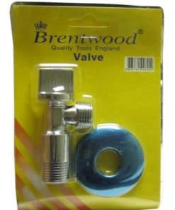Brentwood Angle Valve 15mm x 15mm