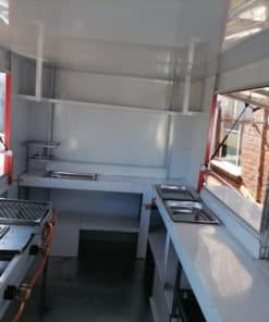 mobile kitchen for your own startup business inside